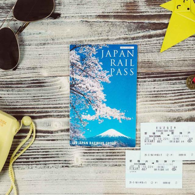 The Japan Rail Pass (JR Pass)