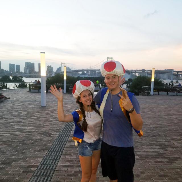 Real-Life Mario Kart in Tokyo